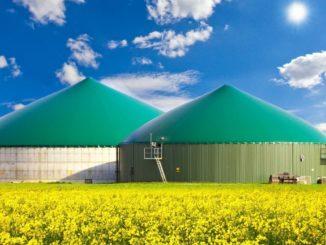 Umweltschutz mit Biogas
